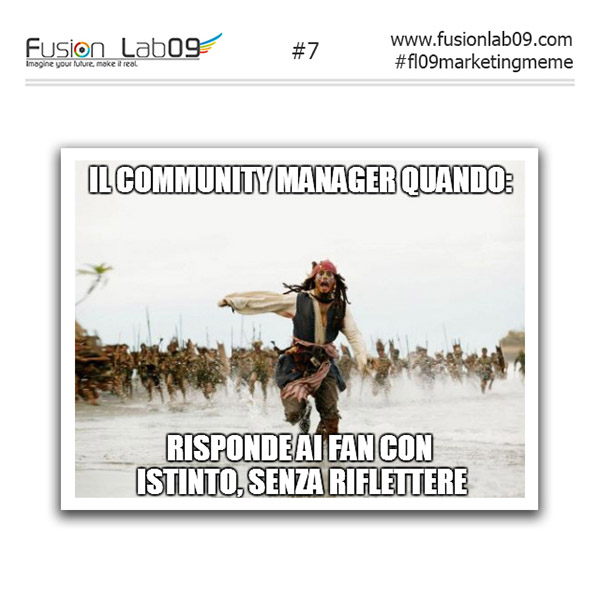 errori del community manager