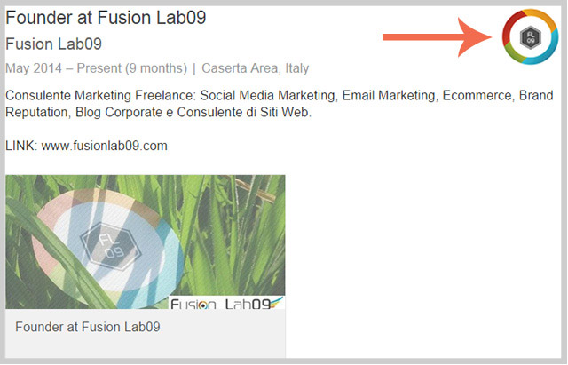brand page linkedin avatar esperienza