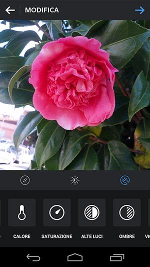 guida instagram impostazioni filtro foto