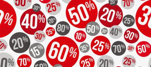 Sconti e promozioni infiniti possono danneggiare il brand